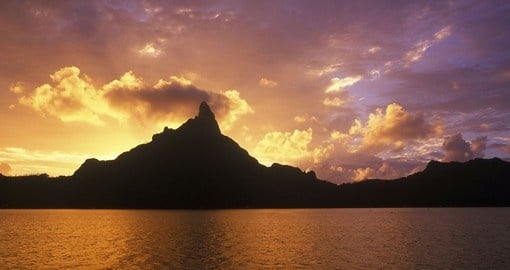 Visit Mount Otemanu sites and enjoy natures wonderful beauty on your next trip to Bora Bora.