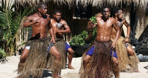Experience traditional Meke dance during your next trip to Fiji.