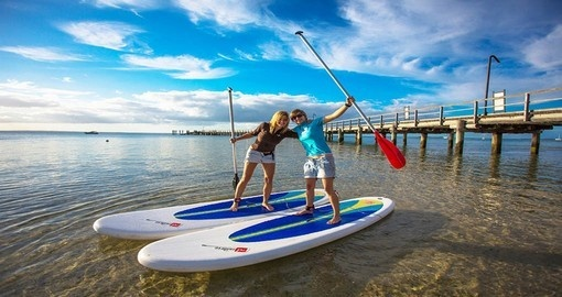 Stand up Paddle Board on Fraser Island