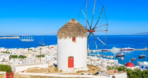 Mykonos Port, Island of Mykonos, Cyclades, Greece