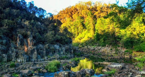 Cataract Gorge is just a 15 minute walk from Launceston city centre