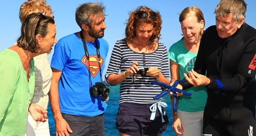 You will have a qualified marine biologist on your cruise during your next Australia vacations.
