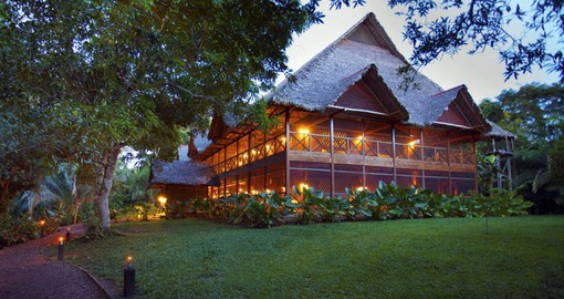 Inkaterra Hacienda Concepcion is built in a former cacao and rubber plantation