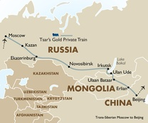 Trans Siberian Moscow to Beijing