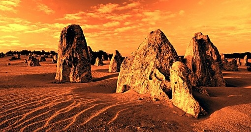Nambung National Park and the mystical Pinnacles