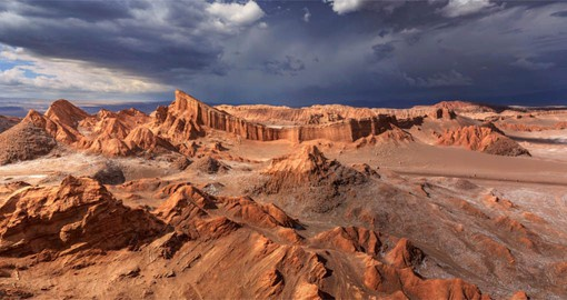 Chile's Atacama Desert  is the driest nonpolar place in the world