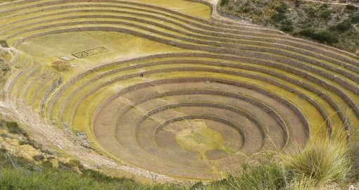 Moray's famous Inca terraces