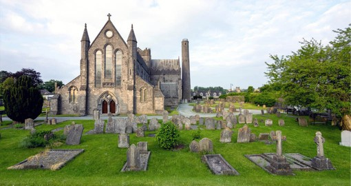 Ireland's second largest Cathedral, St Canice's stands on the site of a Celtic monastery
