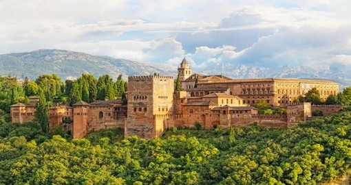 Explore The Alhambra fortress complex in Granada during your next Spain holiday.