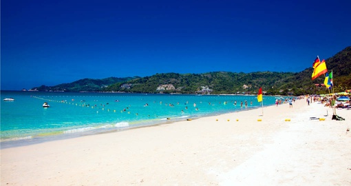 Walk along Patong beach on your Thailand Vacation