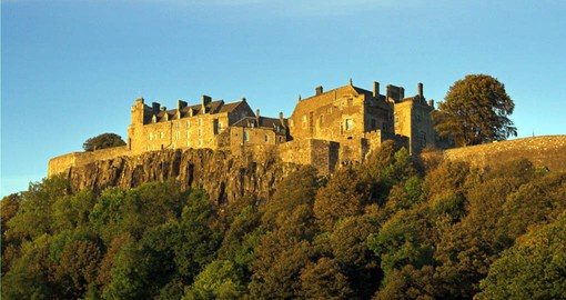A visit to the 12th century Stirling Castle is included on your trip to Scotland