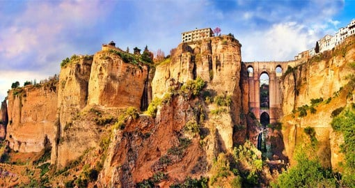 Marvel at The Old City of Ronda on your Spain holidays
