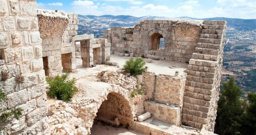 Visit and explore Ajloun Fortress during your next Jordan tours.