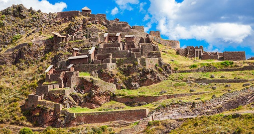Explore ancient Pisac on your trip to Peru