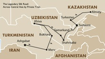 The Legendary Silk Road: Across Central Asia by Private Train