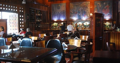 Visit the Mauri Bar in Lima on your Peru Tour