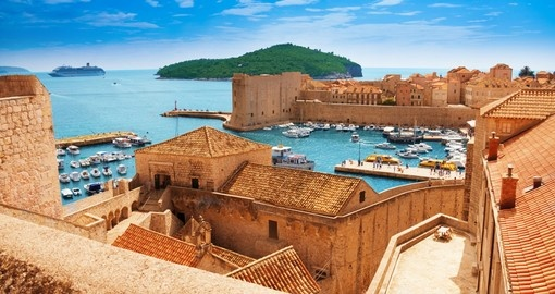 See the historic Port of Dubrovnik on your trip to Croatia
