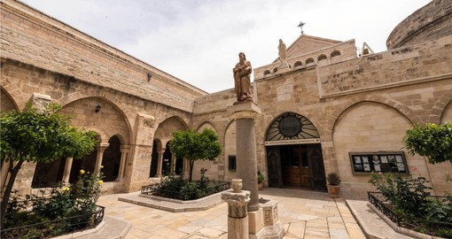 See the birth place of Christ in Bethlehem during your Israel tour