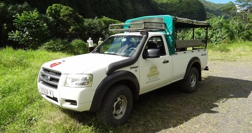 Mountain 4x4 Safari Tahiti
