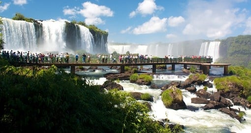Experience breathtaking Iguassu Falls on your Brazil Trip