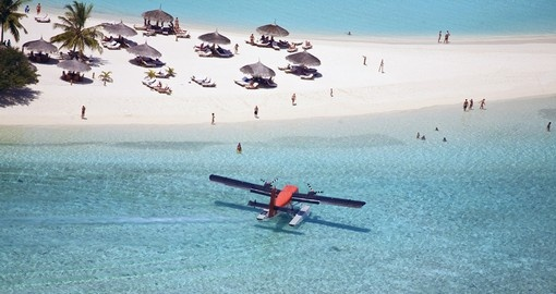 Seaplane At The Resort