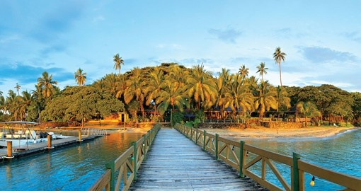 Explore all the amenities of the First Landing Beach Resort during your next trip to Fiji.