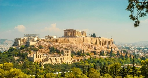 Learn about ancient Greek history through the Acropolis of Athens on your Greece Vacation