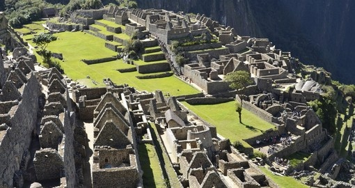 Explore the Citadel and main square of Machu Picchu on your Peru Tour