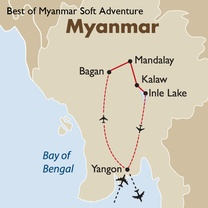 Best of Myanmar Soft Adventure