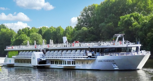 The MS Loire Princesse.