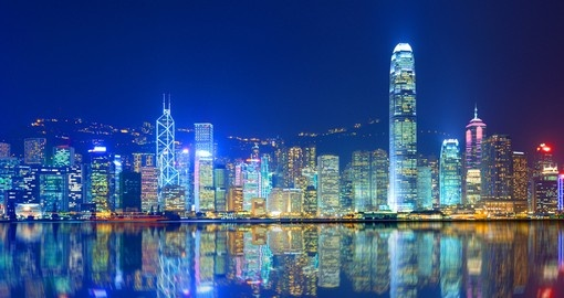 Experience the nightlife of the city on your Hong Kong Vacation