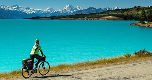 Tour New Zealand's South Island via cycle