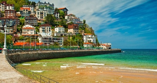 Explore the Beach of San Sebastian on your Spain Tours.