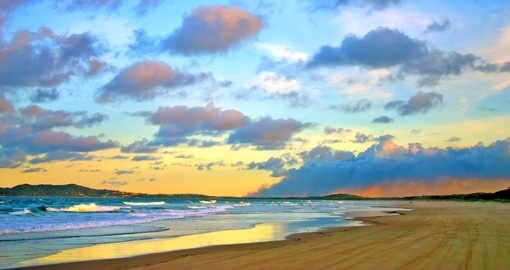 Your Australia tour includes a stay on Fraser Island.