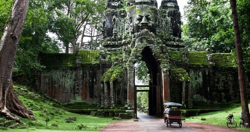 Ancient Cambodian Temple