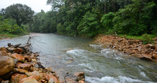 Khlong Phlu Waterfall, Koh Chang Island