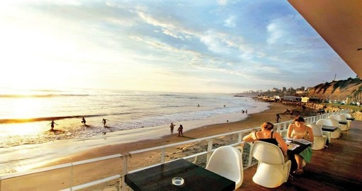 Dine in Lima during your Peru vacation.