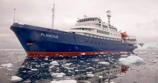 Travel the Antarctic on the MV Plancius on your Argentina tours