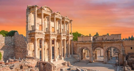 Ephesus was once considered the most important Greek city and the most important trading center in the Mediterranean