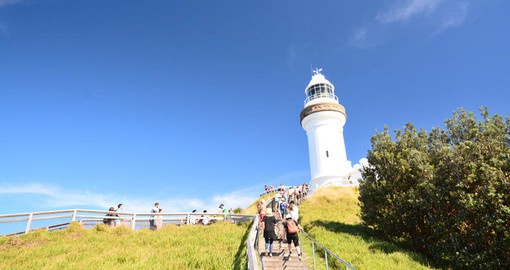 Visit the Bryon Bay Lighthouse as part of your Australia Vacation.