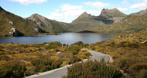 Included in your Australia Vacation Packages is a visit to the Cradle Mountain National Park.