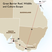 Great Barrier Reef, Wildlife and Culture Escape