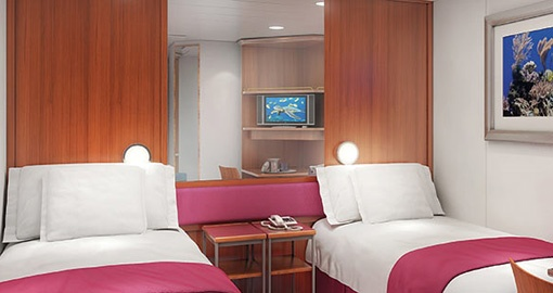 The Inside Stateroom on the Norwegian Jewel