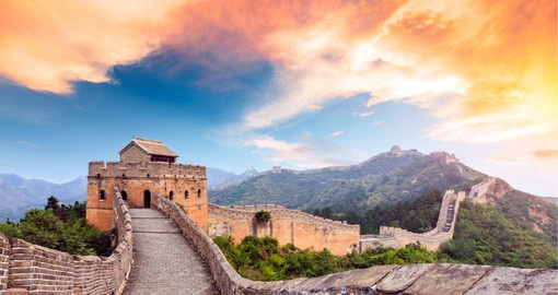 One of the world's most famous landmarks, China's Great Wall took nearly 1,000 years to complete