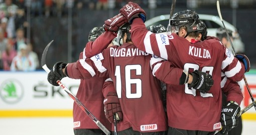 Latvian hockey