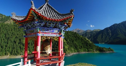 See Heavenly Lake, in Urumqi on your China Vacation