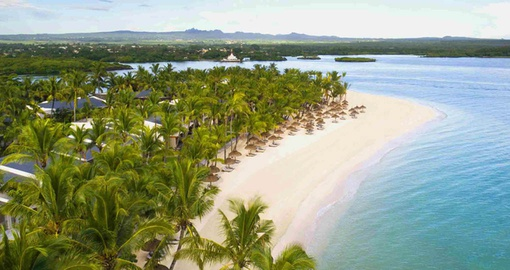 Enjoy the amenities of a luxury hotel on your Mauritius vacation