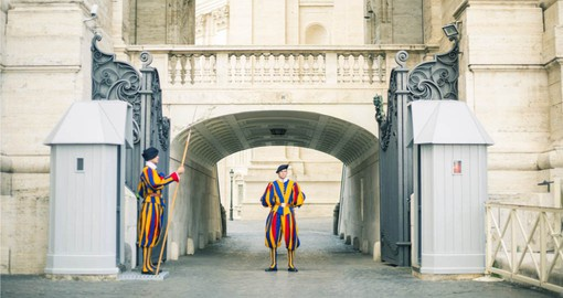 The Swiss Guard have protected the Pontiff since 1506