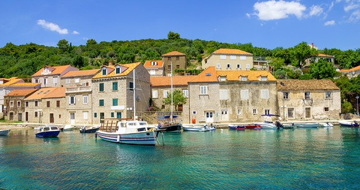 Enjoy the slow pace of life on Sipan on your trip to Croatia