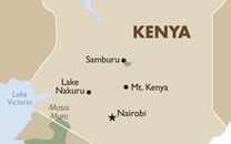 Kenya Country Map